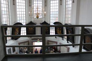interieur rouwborden Pieterskerk Breukelen